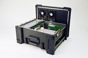 Rugged Military Computer with removable Drives