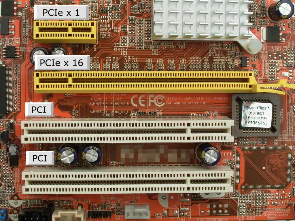 PCIe Lanes on a Motherboard