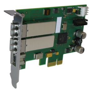 PCIe 1394 optical interface from DAP